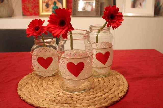 19 valentine 39 s day decorating ideas a romantic for Valentine s day home decorations