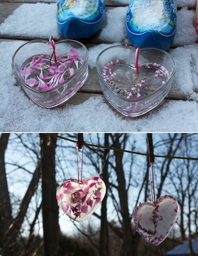 Valentines Day Homemade Ideas Iced Hearts Flowers Gift