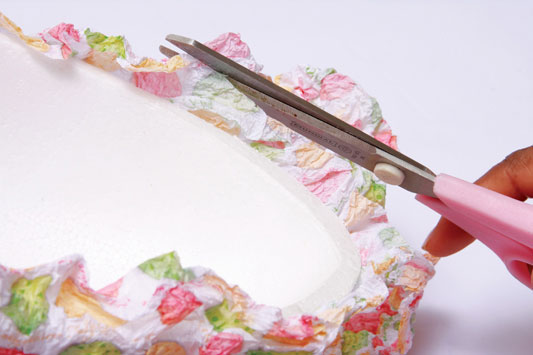 diy tissue paper gift idea craft project
