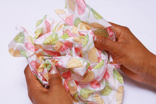 tissue paper easter project diy gift idea