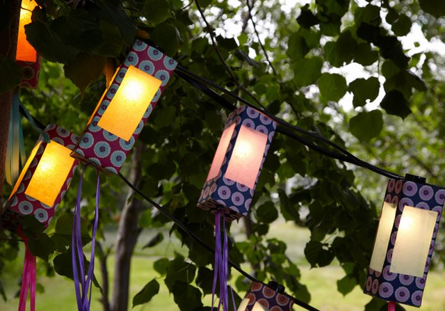 diy outdoor lighting ideas handmade garden hanging light