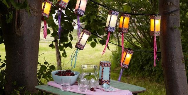 DIY outdoor lighting ideas – How to make creative garden lanterns