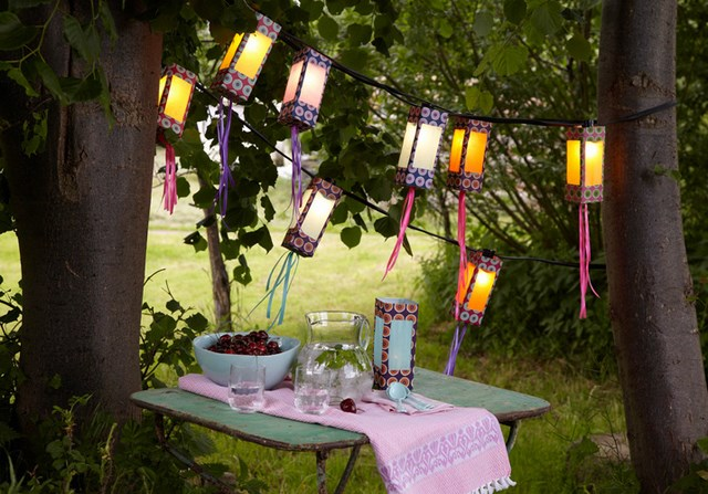 Diy outdoor lighting ideas how to make creative garden lanterns mozeypictures Images