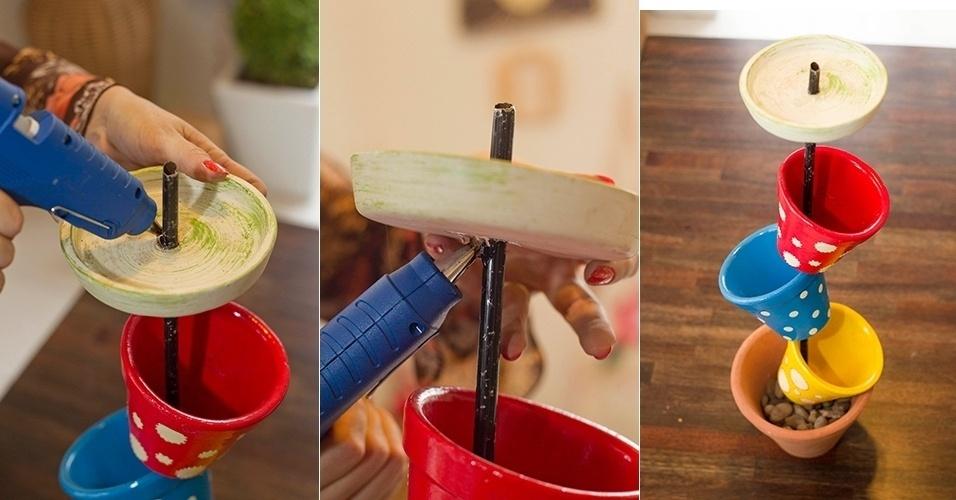 Diy Vertical Pot Flower Decoration Home Garden Idea