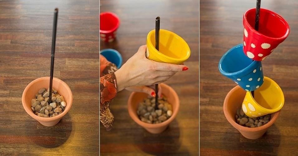 Diy Vertical Pot Flower Decoration Indoor Herb Idea