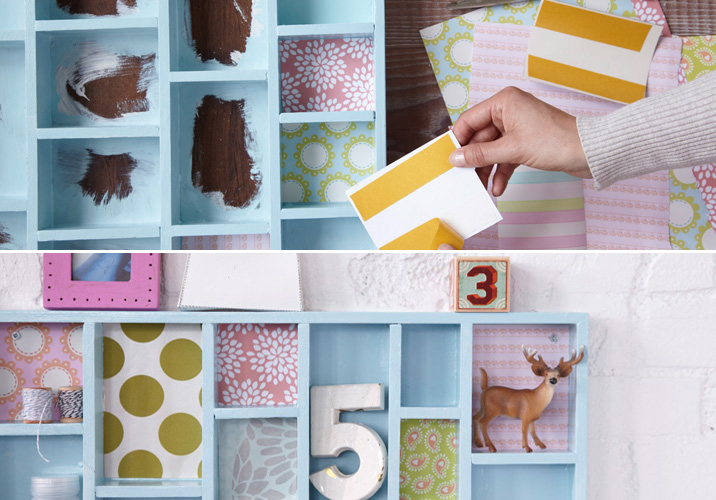 Diy wall storage ideas 3 easy and creative organizing for Home made decoration pieces