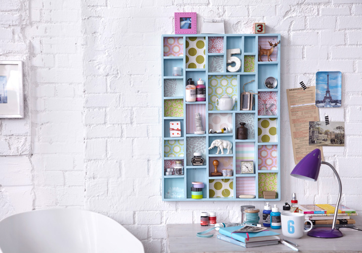unique handmade type case projects diy wall storage ideas