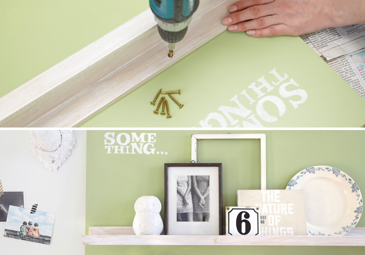 DIY wall storage ideas – 3 easy and creative organizing projects