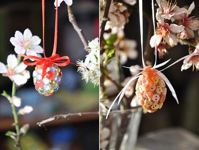 easter home decor diy ideas easter egg tree ornaments