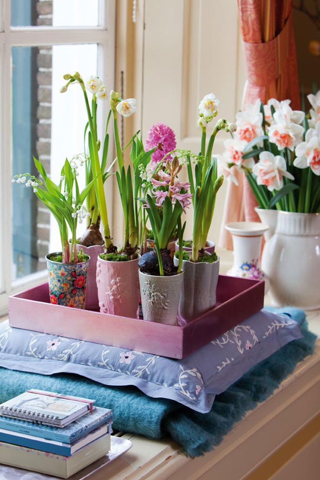 Spring decorating ideas refresh your home with spring for Decorations for the home ideas