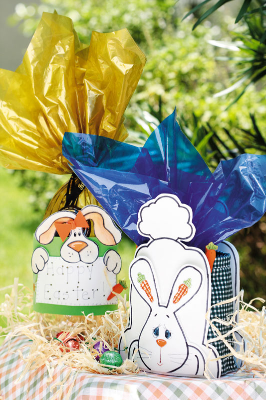 easter-bunny-basket-handmade-plastic-bottle-art