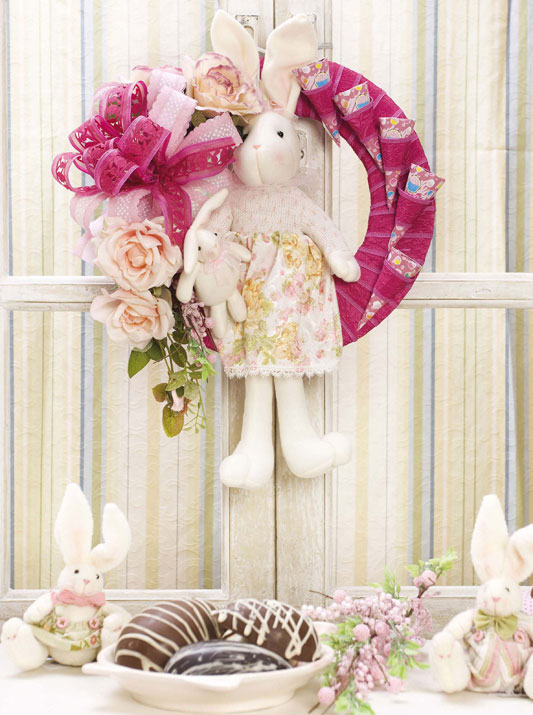 kids room door decorations easter wreath ideas