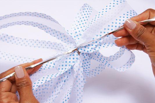 sky blue ribbon tie easter wreath ideas