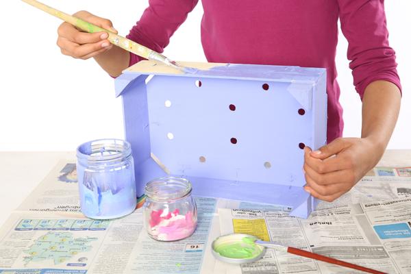 handmade mothers day gift diy idea kids make breakfast bed tray craft