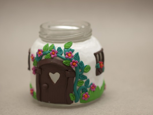 cute unique handmade gift idea glass jar craft