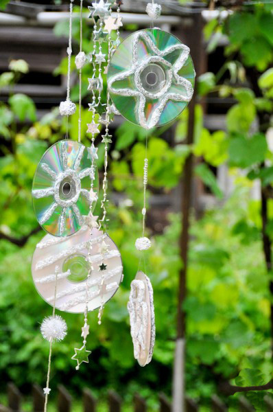 diy outdoor decoration idea wind chime craft project