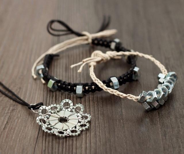 braided-hex-nut-bracelets-diy-handmade-gift-for-him