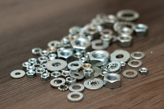 washers materials braided hex nut bracelets