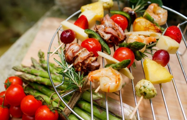 picnic food recipes skewers various ideas