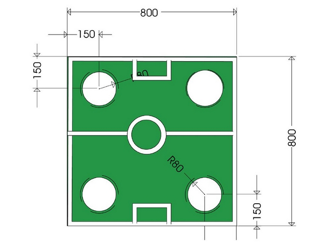 2014 world cup themed party dimensions coffee table