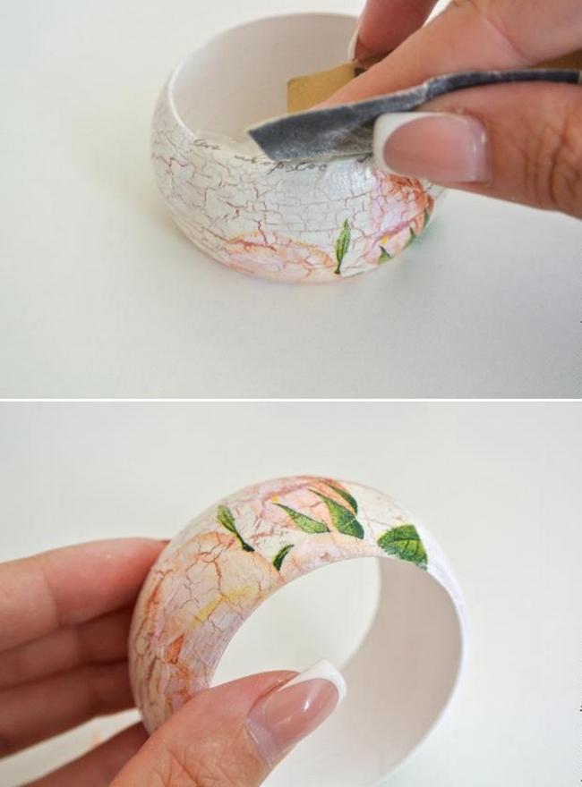 diy bracelet sanding end