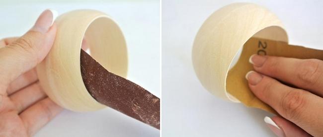 diy bracelet tutorial unfinished wooden bangles sanding