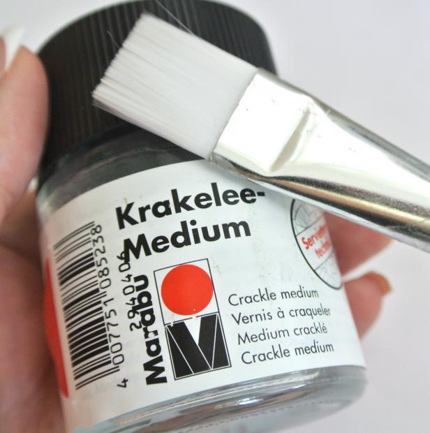 diy bracelet tutorial wooden bangles crackle glaze medium