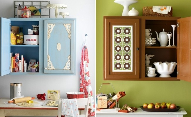 DIY kitchen cabinet ideas - 10 easy cabinet door makeovers