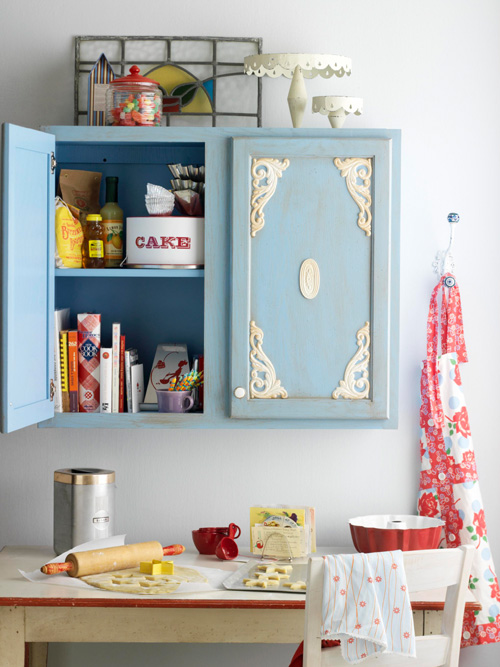 diy kitchen cabinet makeover ideas vintage shabby chic look