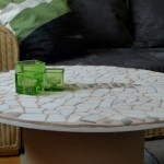 DIY cable spool table – Cool coffee table for your living room