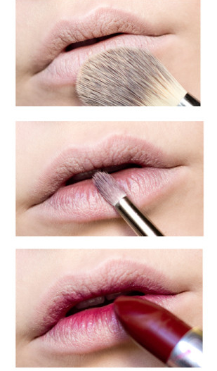 halloween makeup ideas lips bloody red