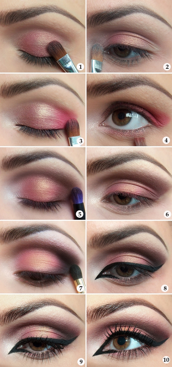 halloween makeup ideas tutorial orient lady exotic antique pink