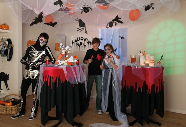 halloween 5 ideas for kids halloween party decorations - Halloween Party Decoration