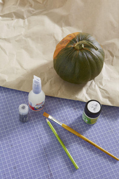 handmade halloween pumpkin decorations materials
