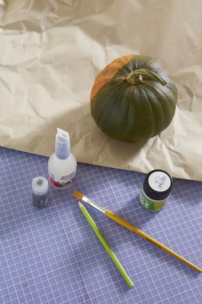 handmade halloween pumpkin decorations materials
