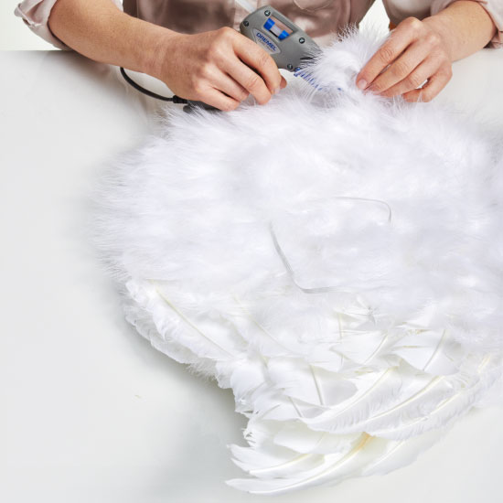 Diy Halloween Costumes For Kids A Tutorial For Angel Wings