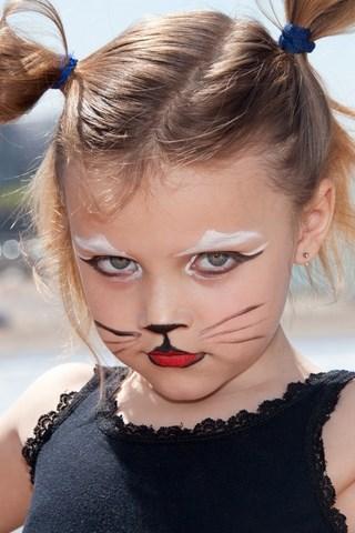 Halloween face makeup ideas easy diy kids face painting