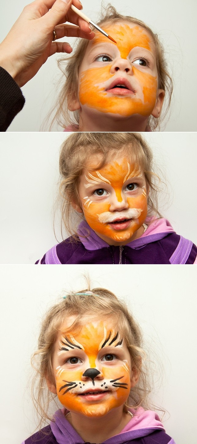 kids-face-makeup-ideas-little-girl-lioness