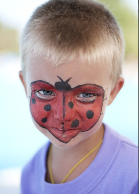 kids-face-makeup-ideas-party-ladybug-face-mask