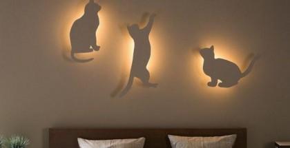 diy-bedroom-lighting-decor-idea-cat-silhouettes