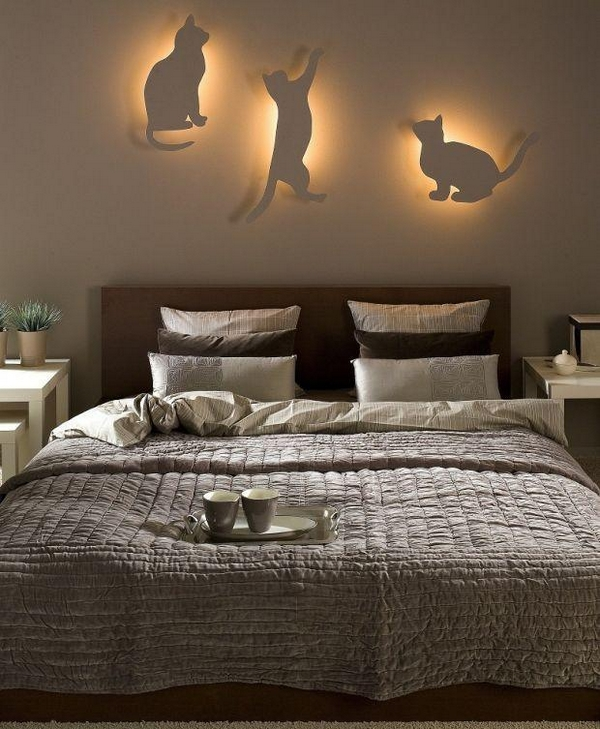 bedroom light decorations diy bedroom lighting and decor idea for cat 10515