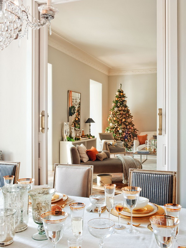 classic style decoration christmas table setting ideas very expensive attributes