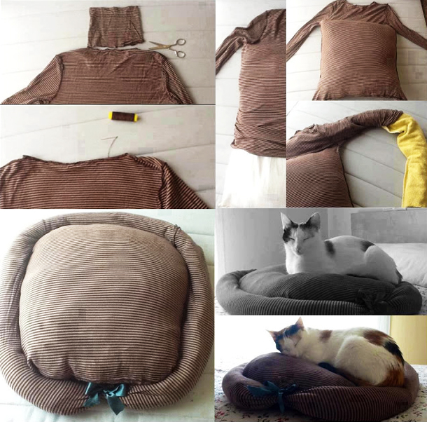 Своими руками кровать для котят
