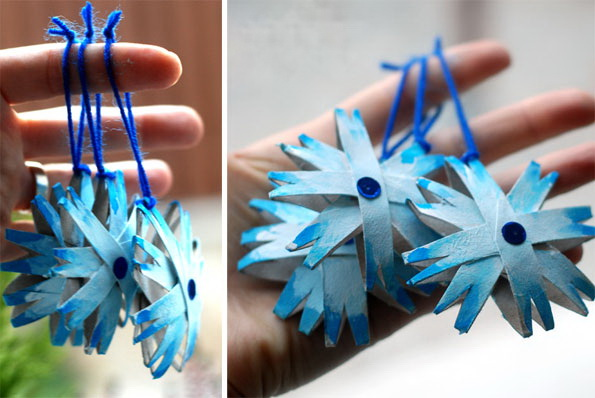 christmas crafts for kids paper snowflake christmas tree decoration