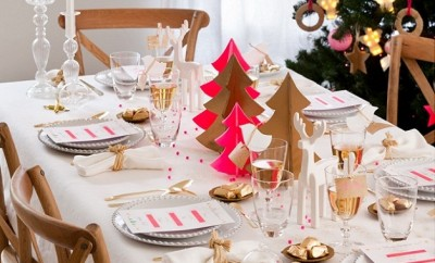 christmas-table-setting-ideas-gold-pink