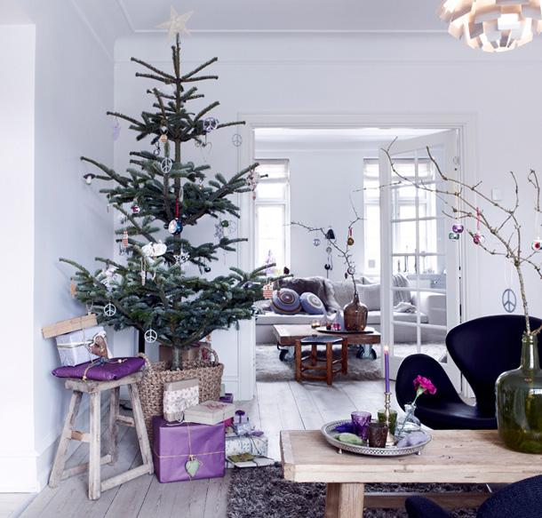 fresh cut christmas tree woodstock decorating ornaments rustic wooden table christmas arrangement