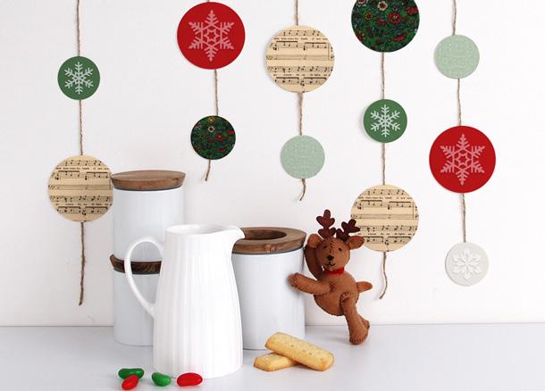 kids handmade garlands scandinavian christmas decorations homemade cookies and candy