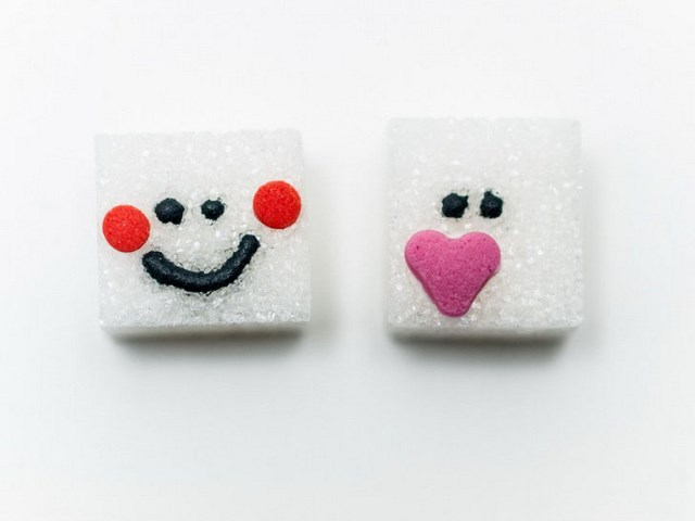 sugar cubes funny decoration sweet diy surprise for morning coffee