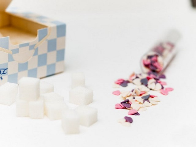 Valentine's Day gift ideas sugar cubes little candies needed products