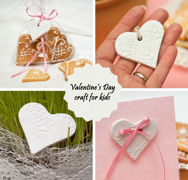 valentine's day craft for kids - easy polymer clay hearts, Ideas